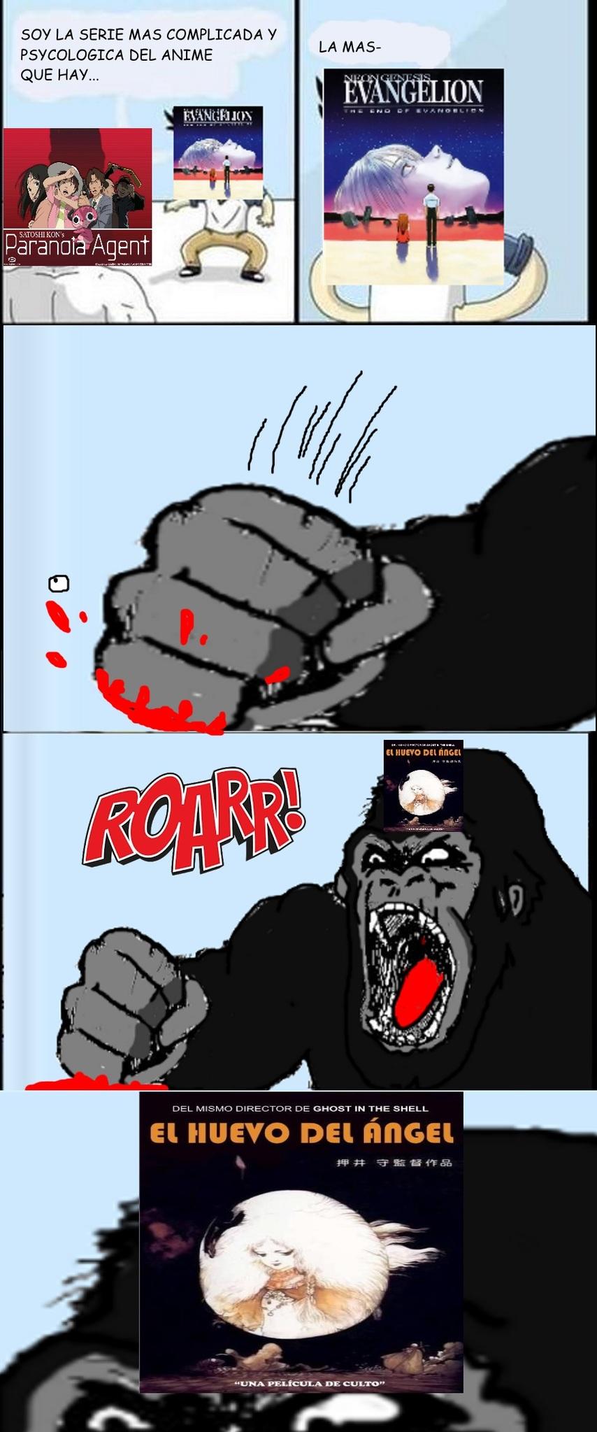 Ugh dijo el mono - meme