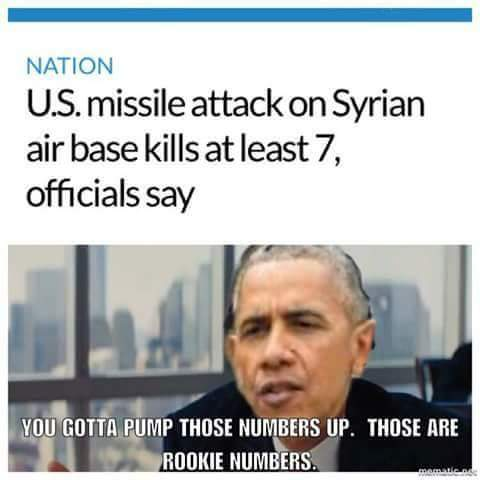 Obama was much better at killing baddies. - meme