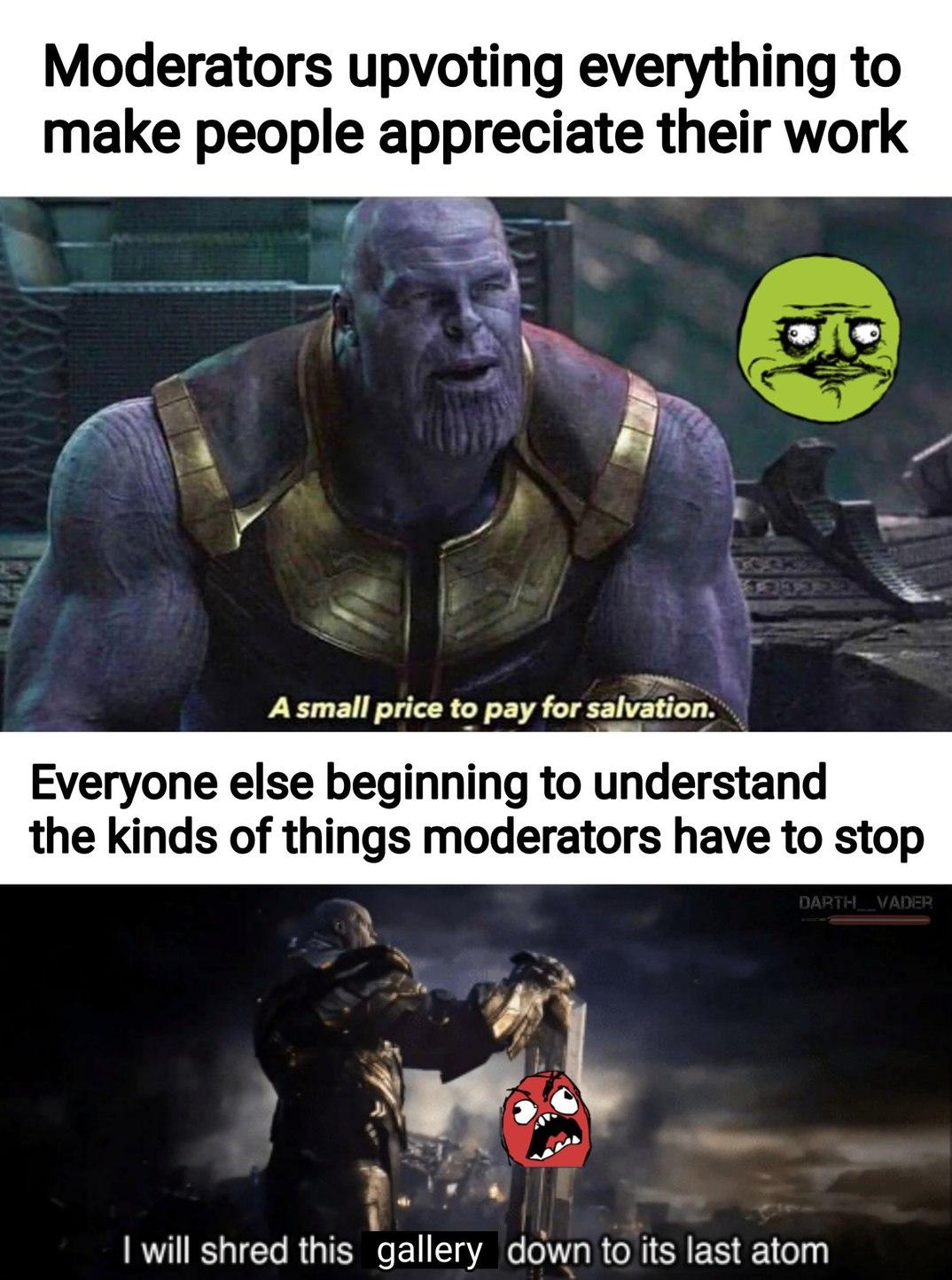 Thank you mods - meme