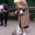 Marionete alimentando esquilo, foda-se.