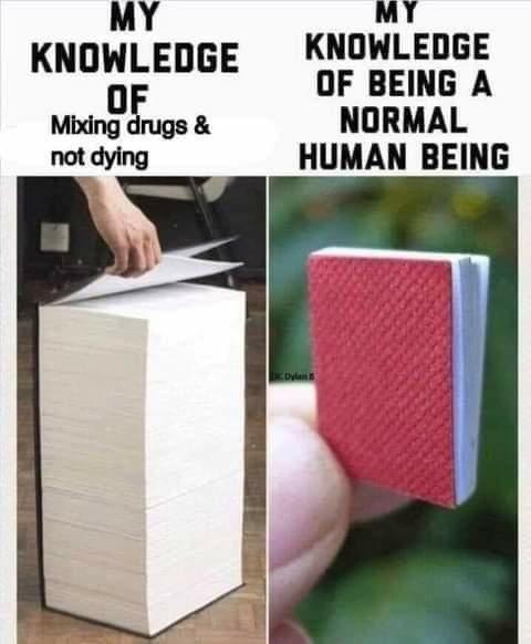 Knowledge is power - meme