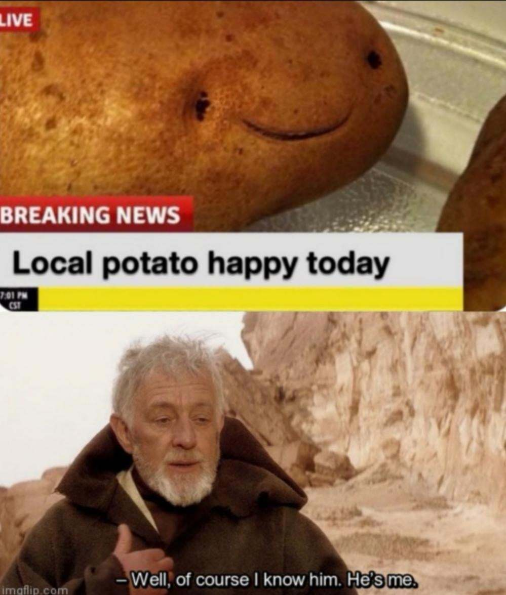 who is the potato - meme