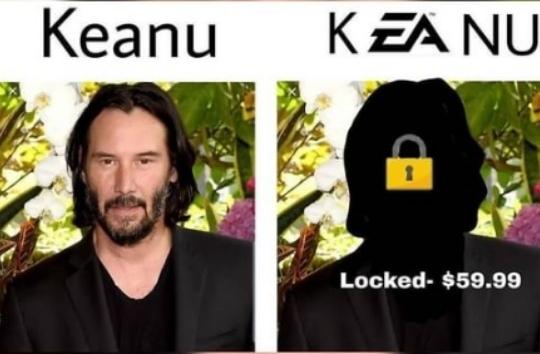 Meme de EA Sports Bad rianse