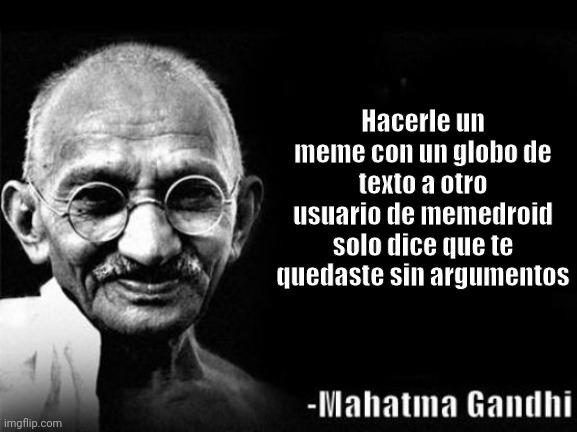 Un grande Gandhi - meme