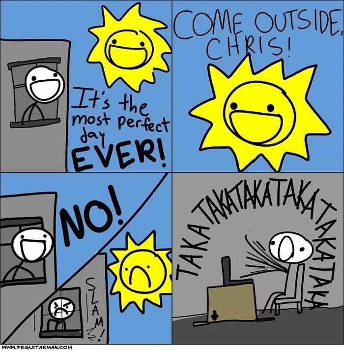 L'été in a nutshell - meme