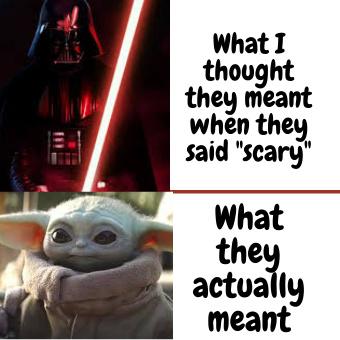 AHH SCARY!!! - meme