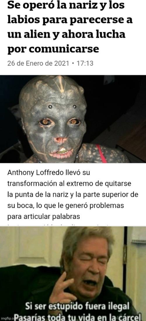 Aliens subnormales - meme