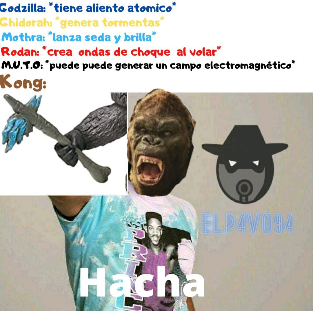 Hacha - meme