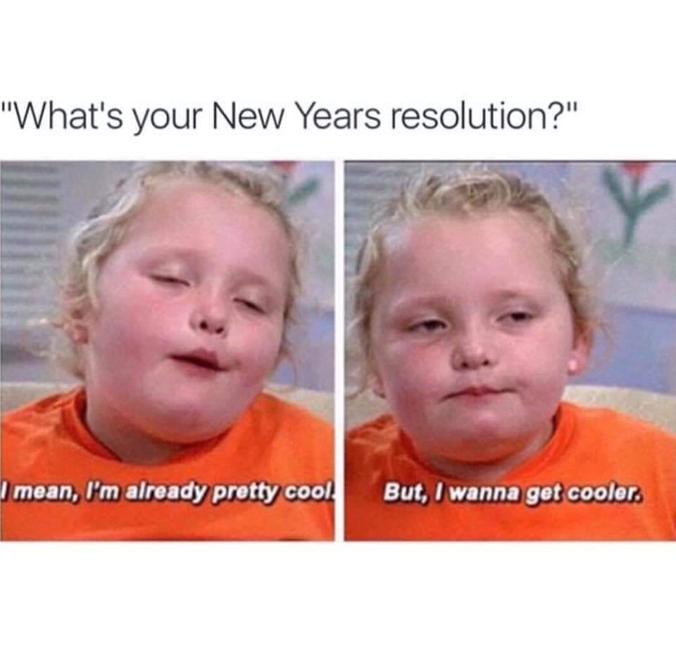 Only 8% people succeed in their resolutions for the new year - meme