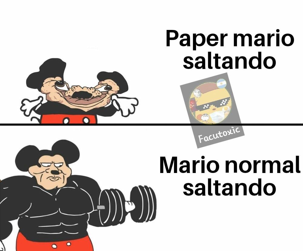 Saltos - meme