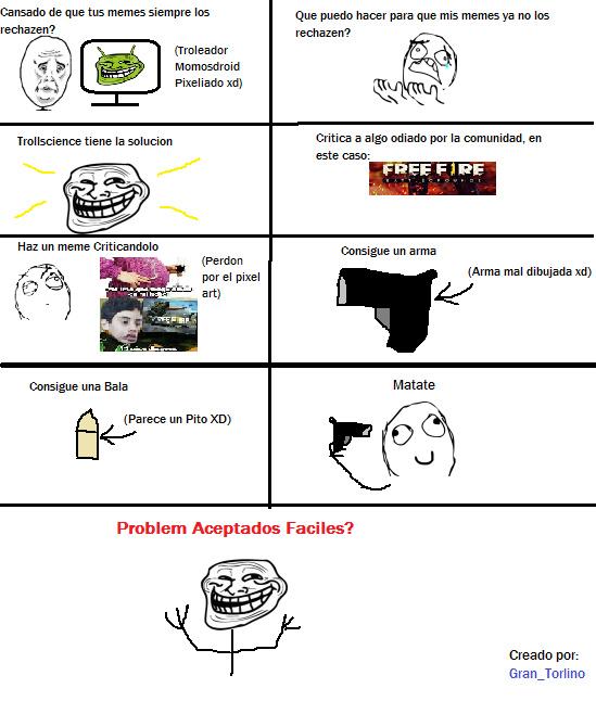 Mi Primer Rage Comic, Espero les guste :happy2: / - meme