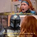 ain't no slut gonna take off my helmet