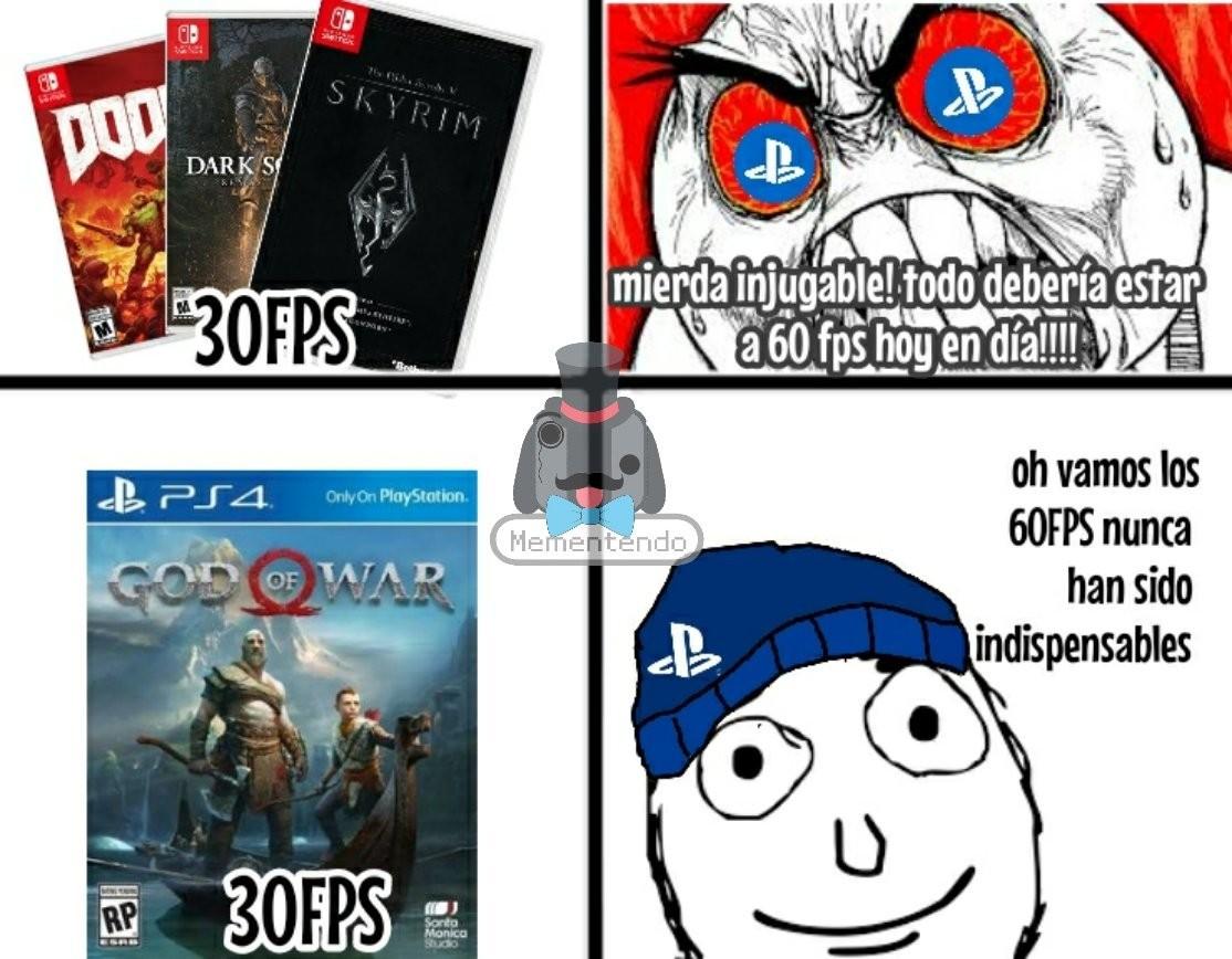 PS fans - meme