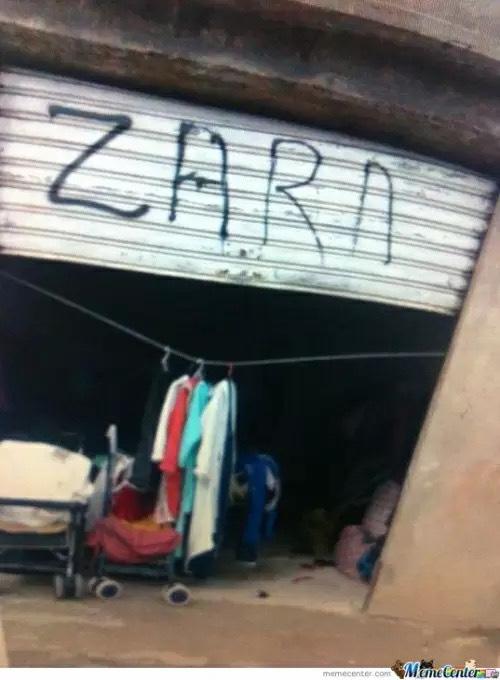 Abren tiendas zara en ecuador, argentina, sudafrica, colombia y chile - meme