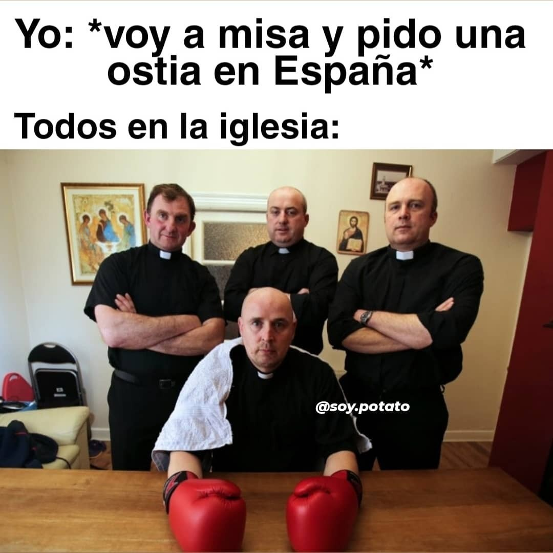 Ostia en España - meme