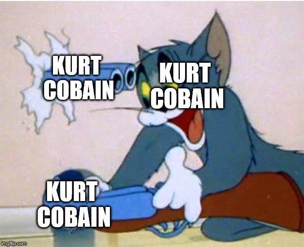 Curt Kobain - meme