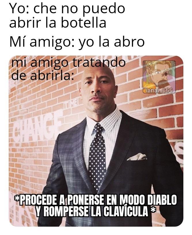 El chiste = √-1 - meme