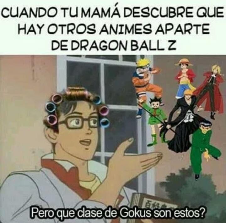 Simplemente... Goku... - meme