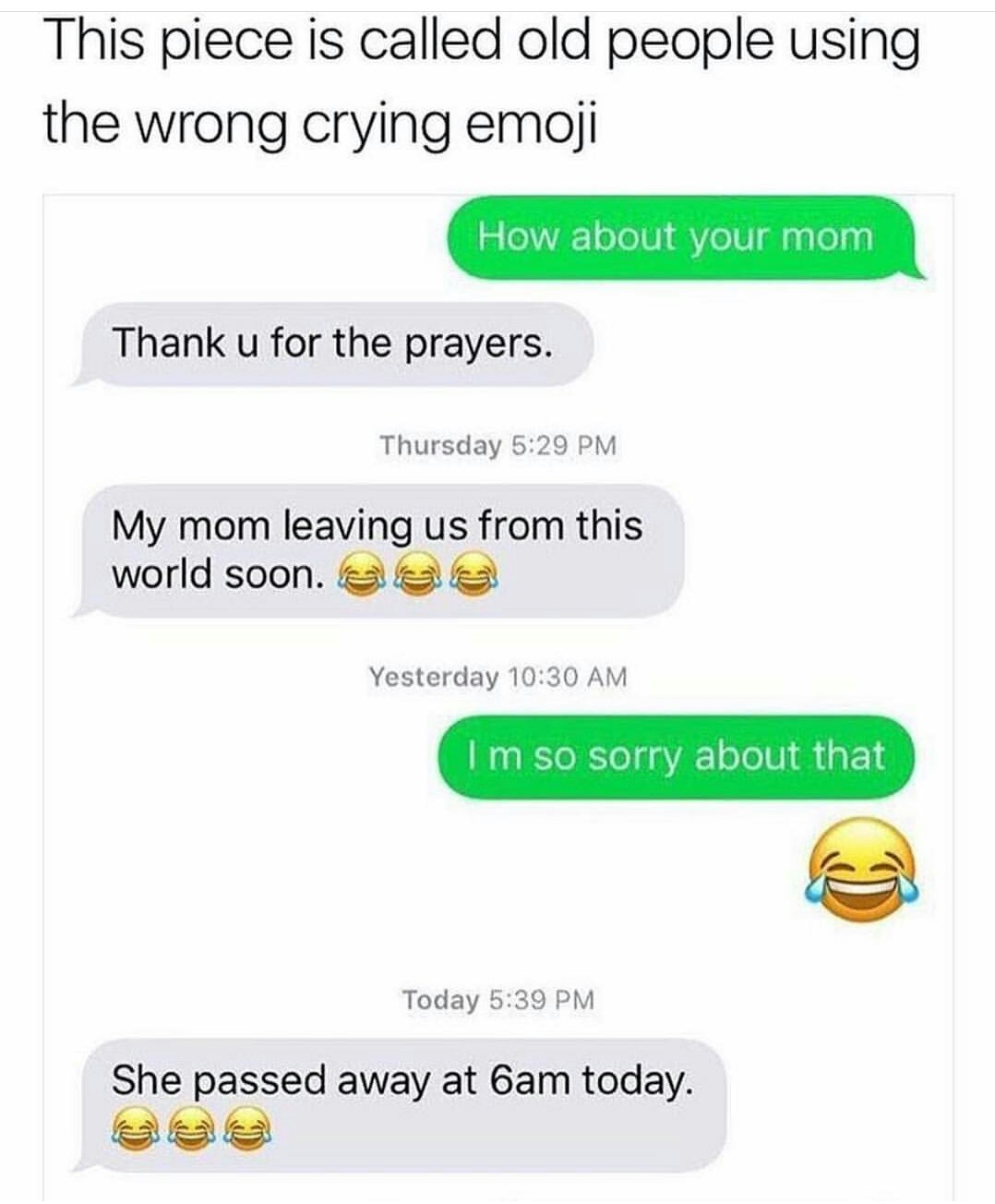 Emoji = Instant downvote - meme