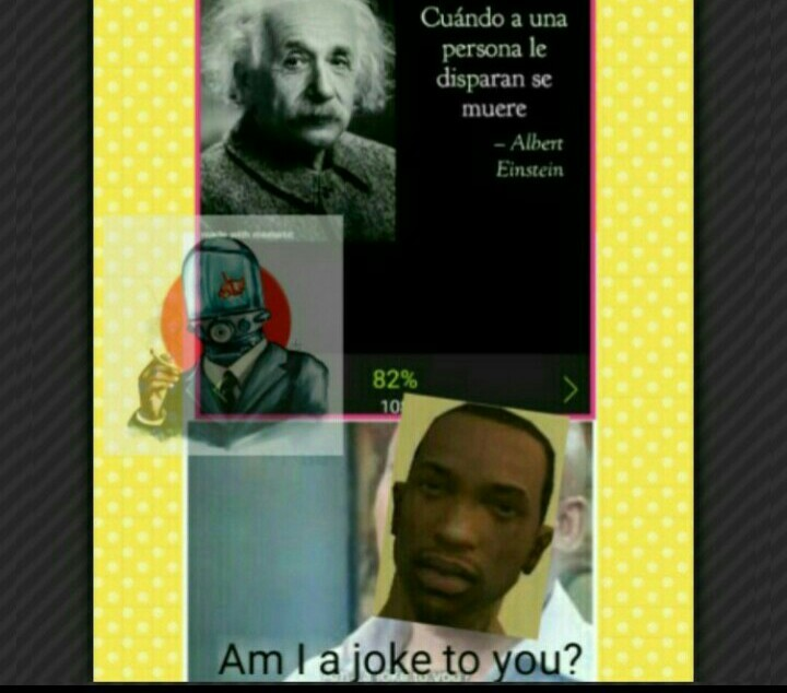 Ese Albert es un loquillo - meme