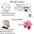 Kirby é o melhor jogo da Nintendo na minha opinião, disputando com Zelda antigo