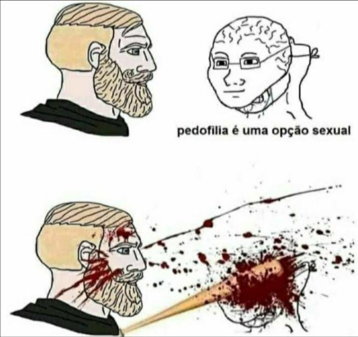 Pedofilos tem que morrer - meme