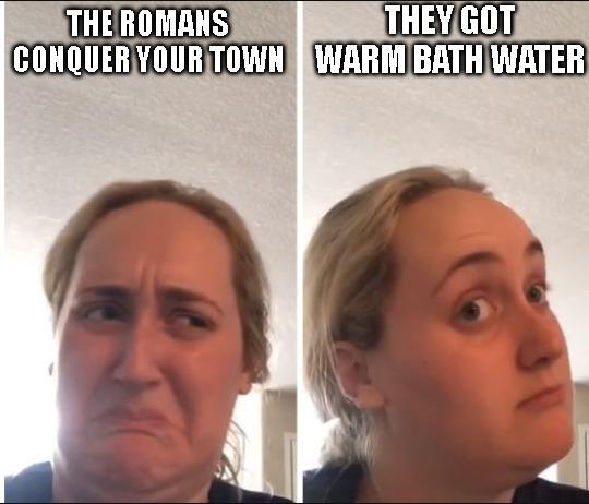Ooohhh, Warm Water - meme