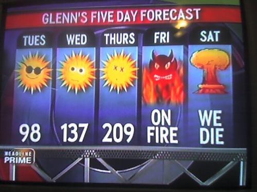 2012 forecast be like - meme