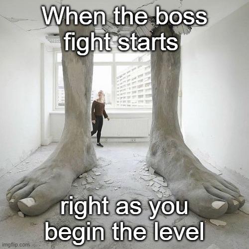 Look at those feet - meme