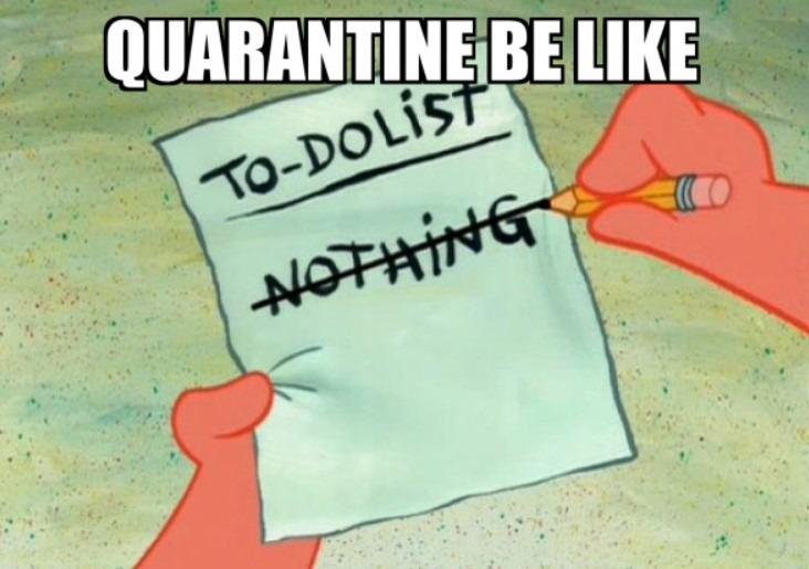 quarantine sucks - meme