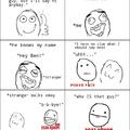 Awkward encounter