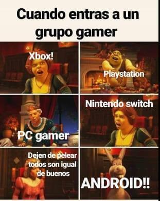Los gamers - meme