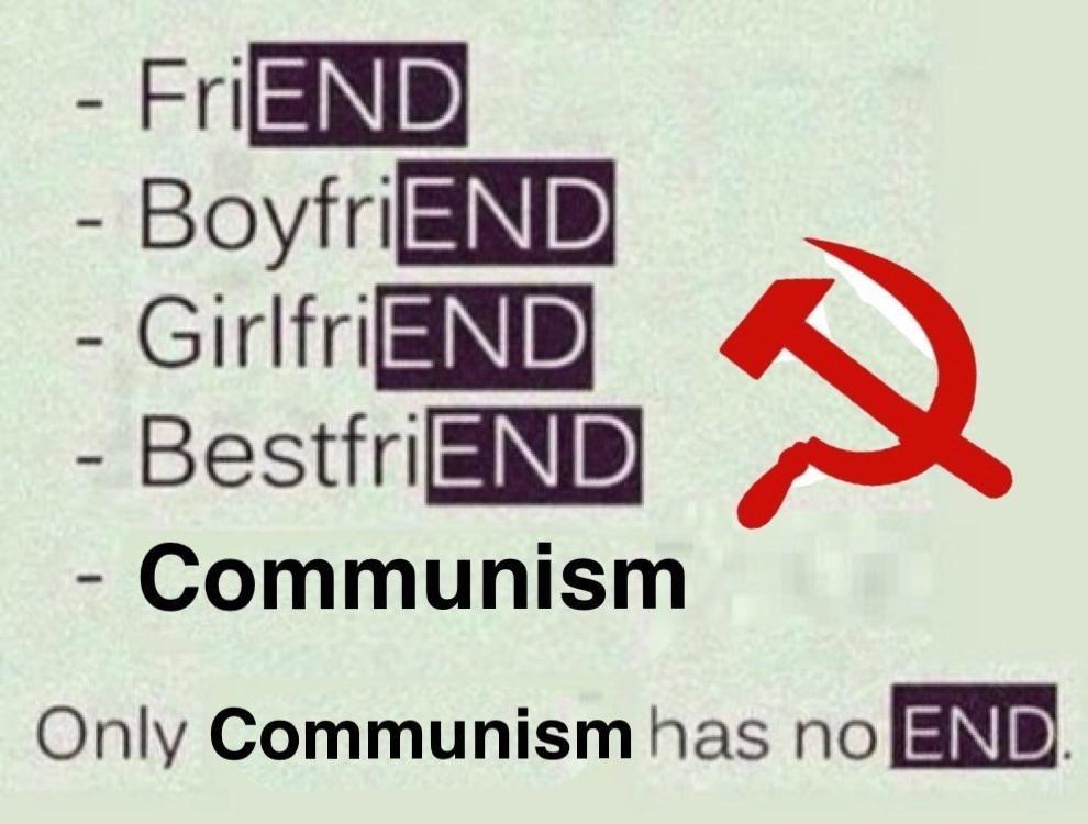 Damn commies - meme