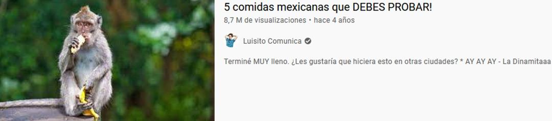 comida mexicana - meme