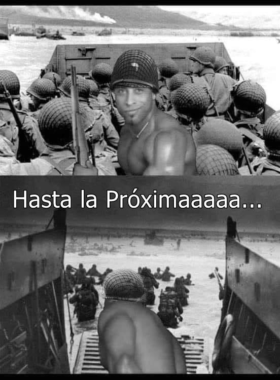 Hasta la próximaaaaaaaaaaa - meme