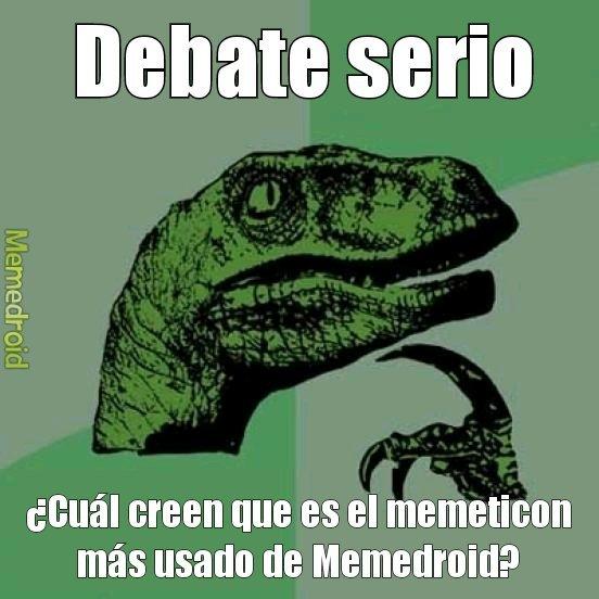 Debate serio :computer: - meme