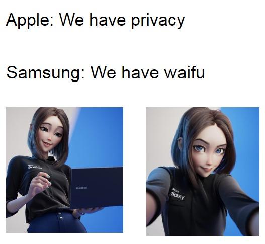 SAMSUNG WAIFU - meme