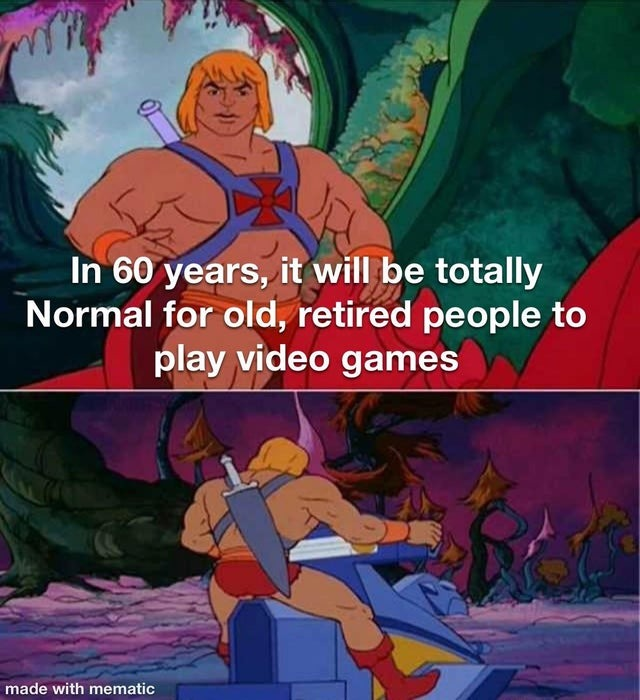 The future of gaming - meme