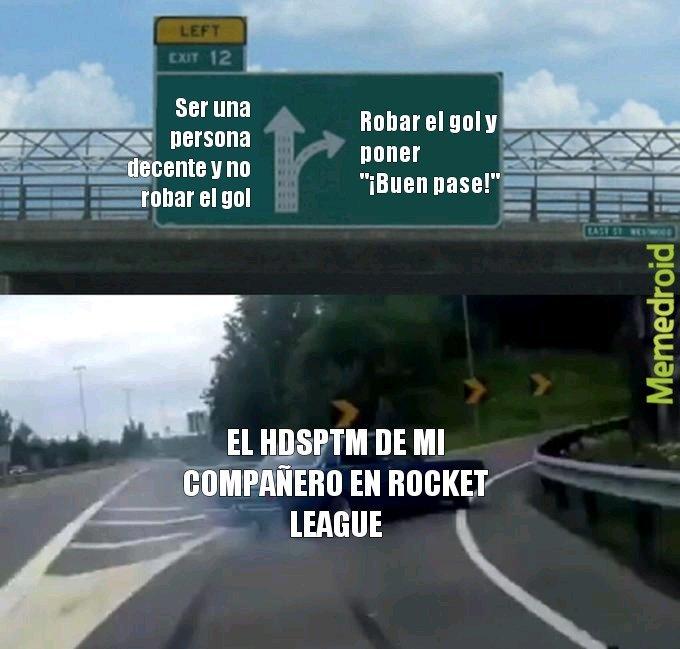 SOS UNA M1ERDA DE PERSONA COMPAÑERO - meme