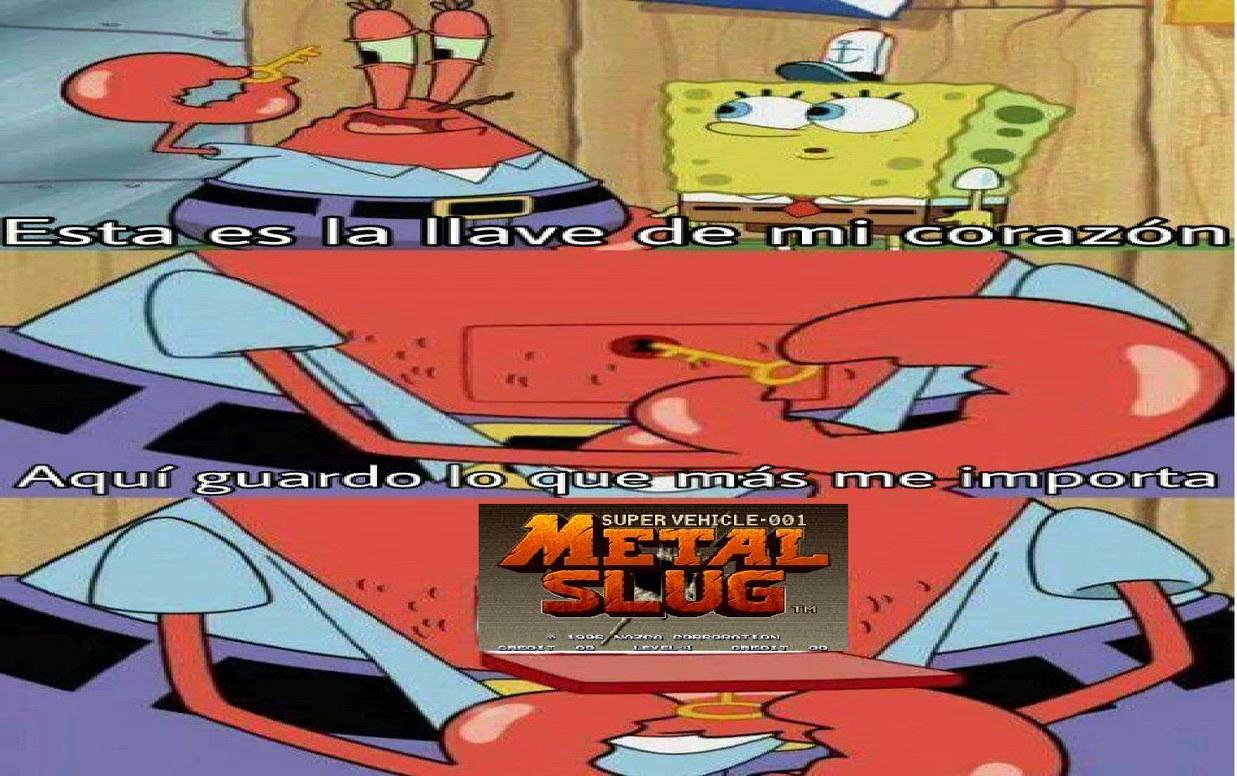 Metal slug es una leyenda - meme