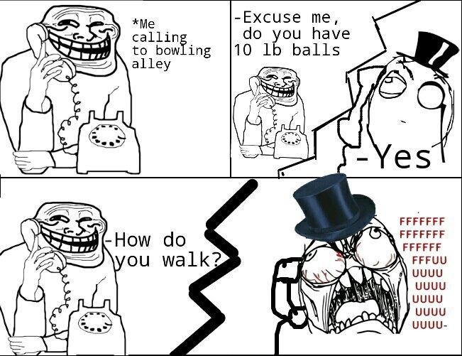 Big ol' bollocks - meme