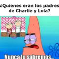 Charlie y Lola padres