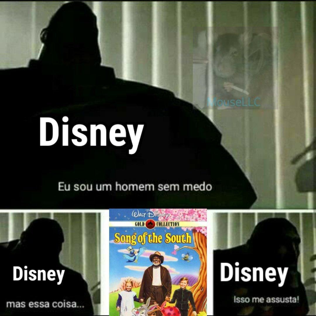 A Disney finge que esse filme não existe - meme