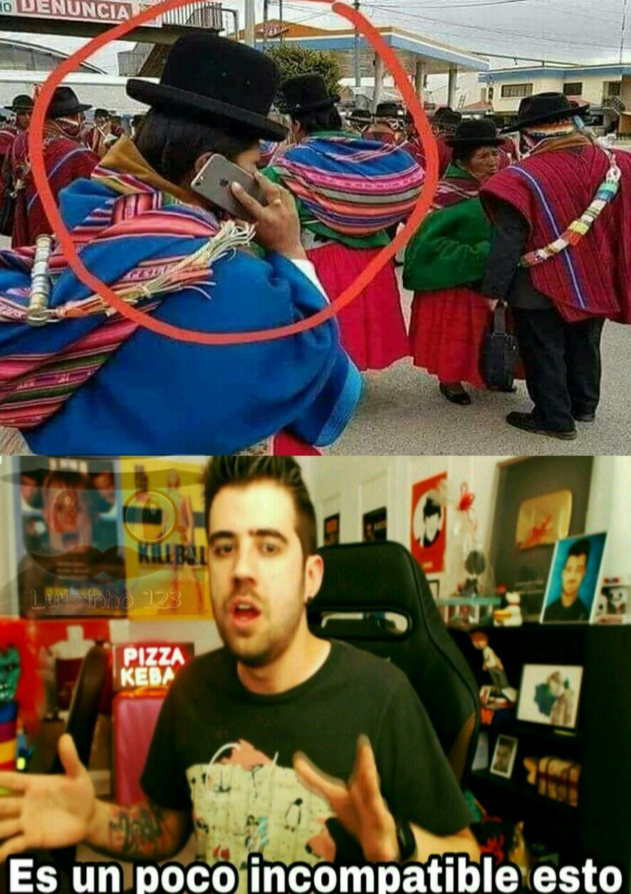 No, no es peruano - meme