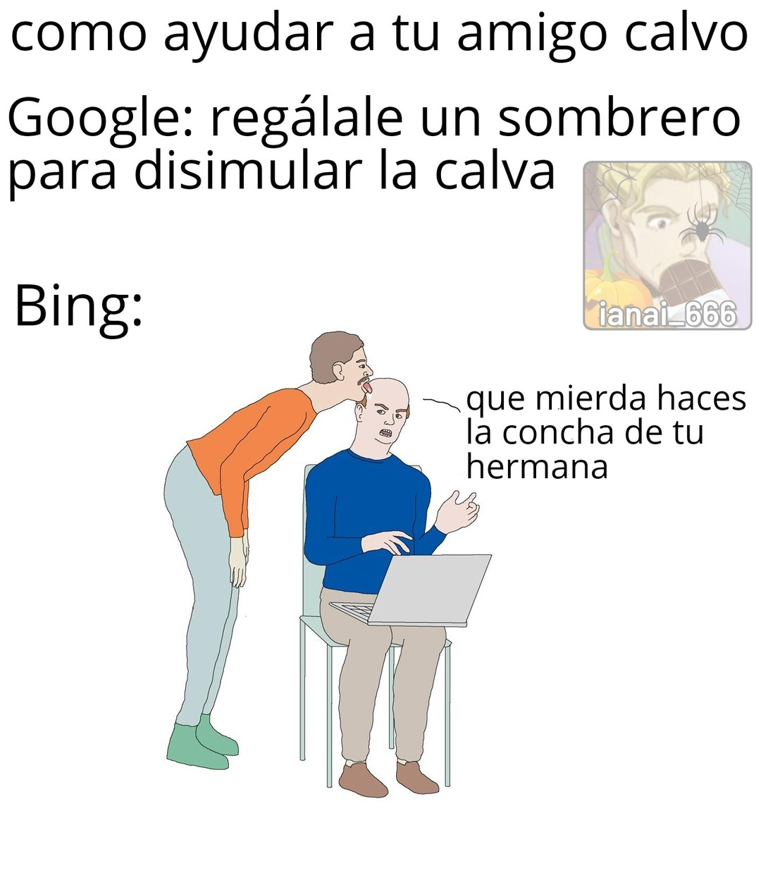"""Sample text"" Promedio be like - meme"