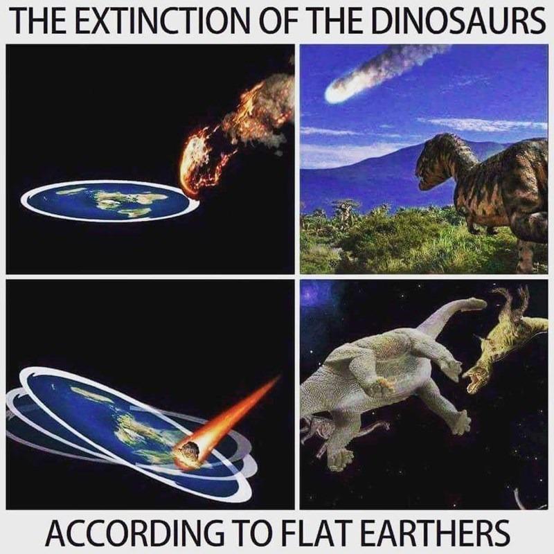 These flat eathers... - meme