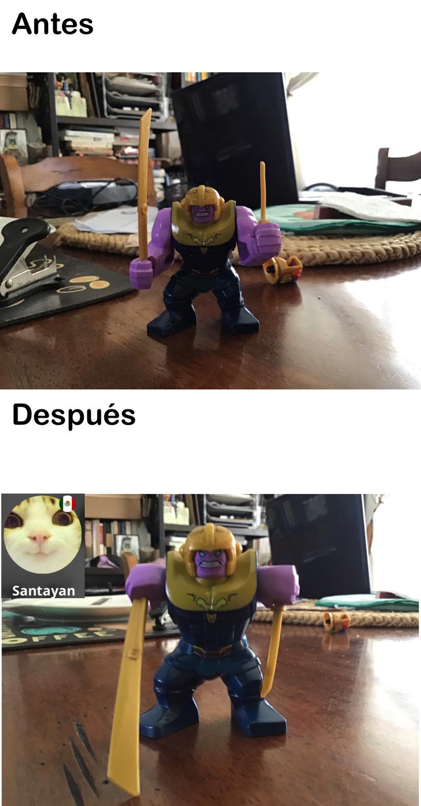 Es thanos de lego - meme