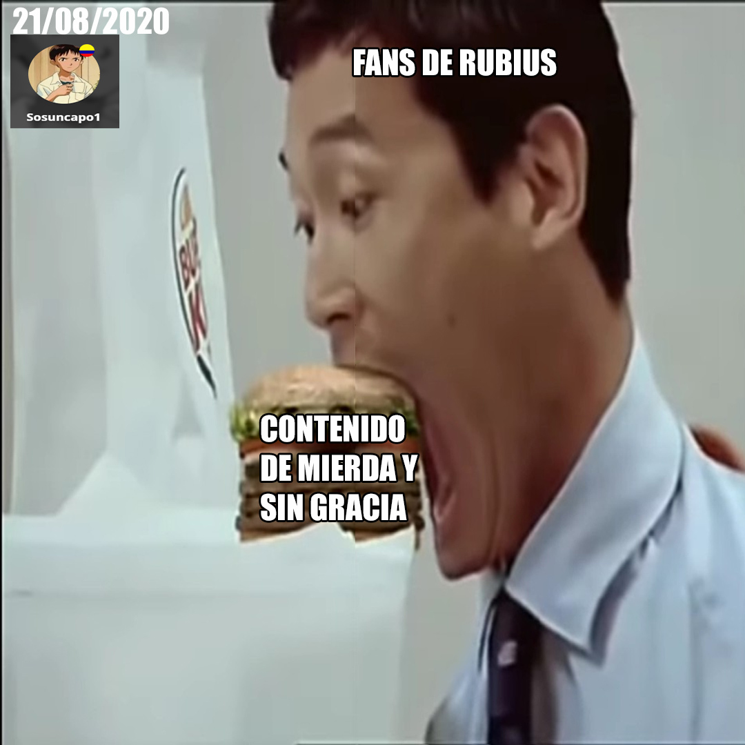Fans de rubius be like - meme