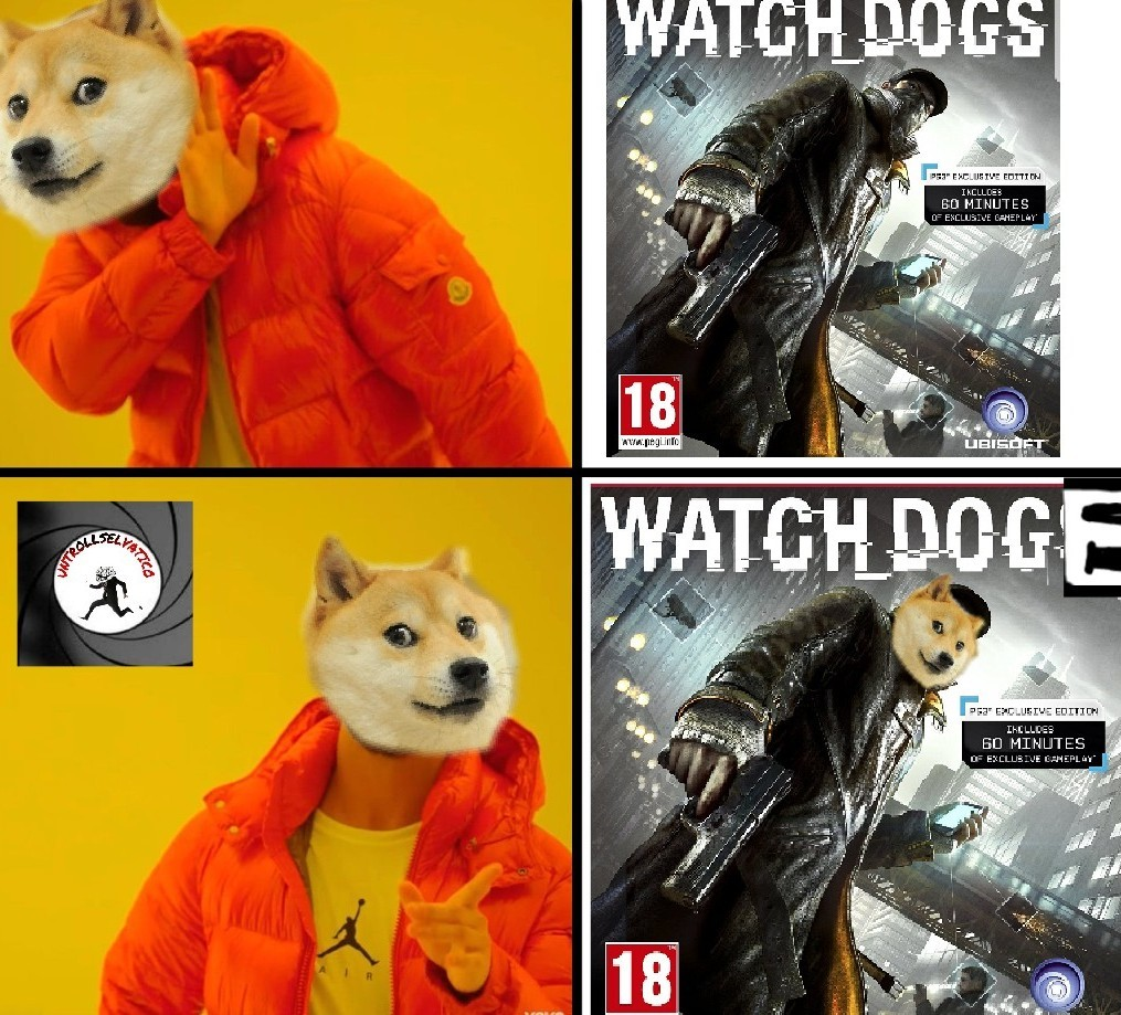 Watch doge - meme