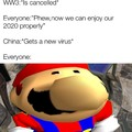 What have you done now Mario
